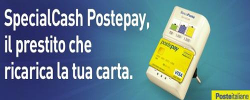 Prestito SpecialCash PostePay